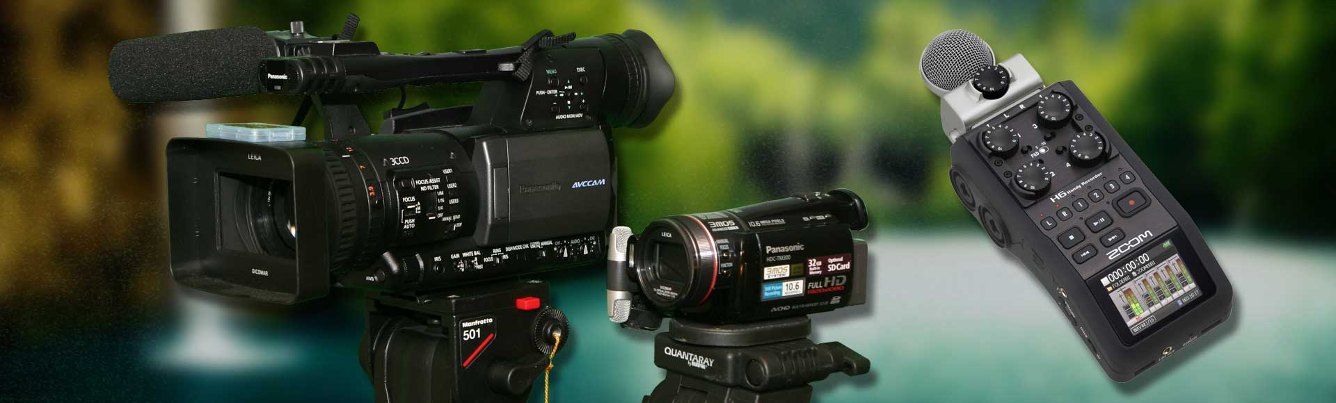 Professional 4k and HD Equipment