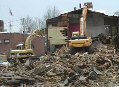 The Park Theatre Demolition